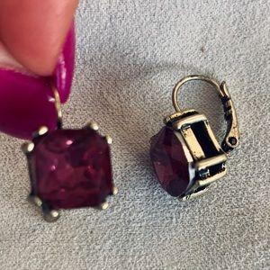 Plum Chloe & Isabel earrings 🍇